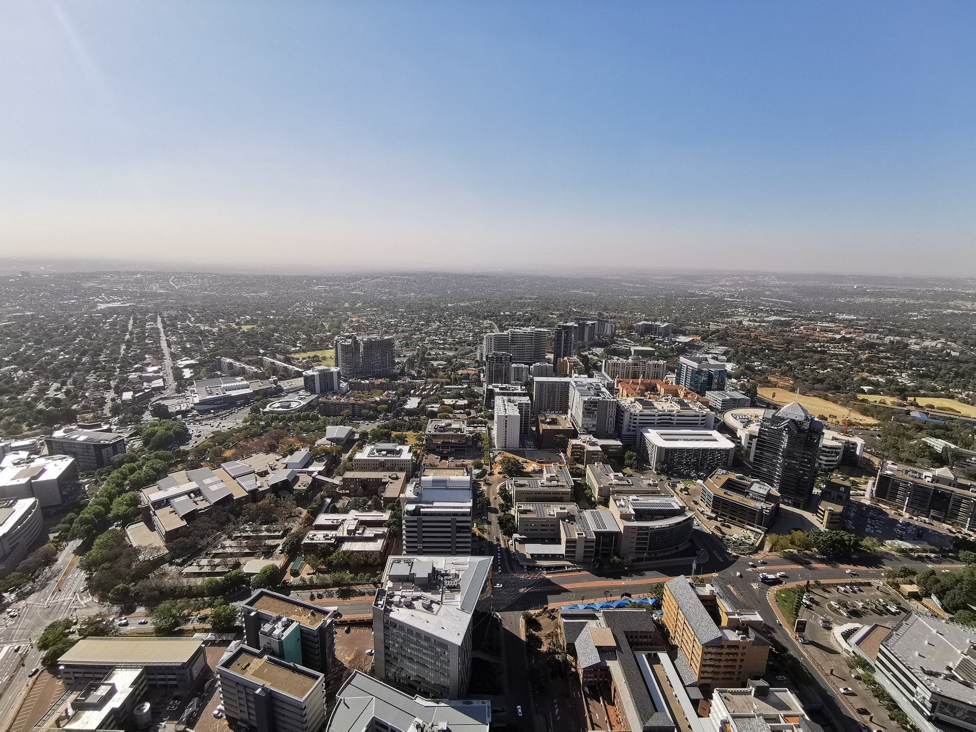 Johannesburg from up high